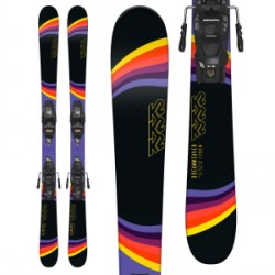 Kid's K2 Dreamweaver Skis Marker FDT 4.5 Bindings Little Girls 2019
