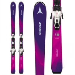 Kid's Atomic Vantage Girl X Skis L 7 Bindings Girls 2019