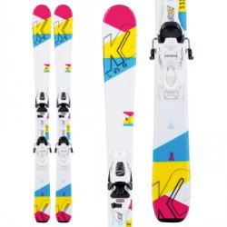 Kid's K2 Luv Bug Skis FDT 7.0 Bindings Little Girls 2020