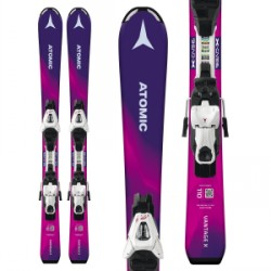 Kid's Atomic Vantage Girl X Skis C 5 ET Bindings Girls 2019