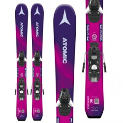 Kid's Atomic Vantage Girl X Skis C 5 SR Bindings Little Girls 2019