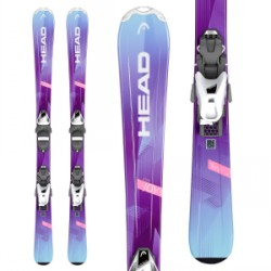 Kid's Head Joy Skis SLR 4.5 Bindings Little Girls 2019