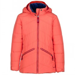 Kid's Marmot Val D'Sere Jacket Girls 2018 in Coral, X-Small