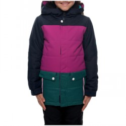 Kid's 686 Lily Insulated Jacket Girls 2018 in Navy, Large
