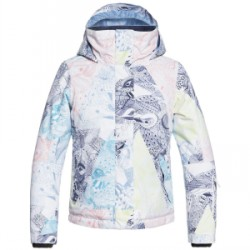 Kid's Roxy Jetty Jacket Girls 2019 Multicolor, X-Large