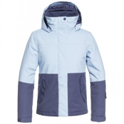 Kid's Roxy Jetty Block Jacket Girls 2019 in Blue, Medium