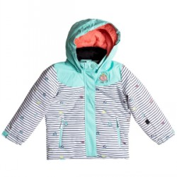 Kid's Roxy Anna Little Miss Snow Jacket Little Girls 2018 Multicolor