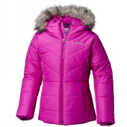 Kid's Columbia Katelyn Crest Jacket Girls 2019 in Purple, Large