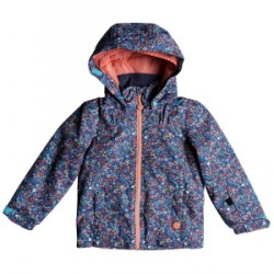 Kid's Roxy Mini Jetty Jacket Little Girls 2019 Multicolor