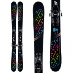 Kid's K2 Dreamweaver Skis 7.0 FDT Bindings Girls 2020