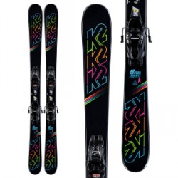 Kid's K2 Dreamweaver Skis 4.5 FDT Bindings Little Girls 2020