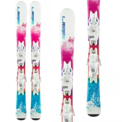 Kid's Elan Sky QS Skis EL 4.5 Bindings Little Girls 2020
