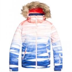Kid's Roxy American Pie SE Jacket Big Girls Multicolor, Large