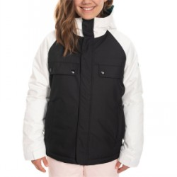 Kid's 686 Dream Insulated Jacket Big Girls in Black, Small